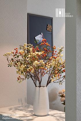 华丽111平简约三居装潢图三居现代简约家装装修案例效果图