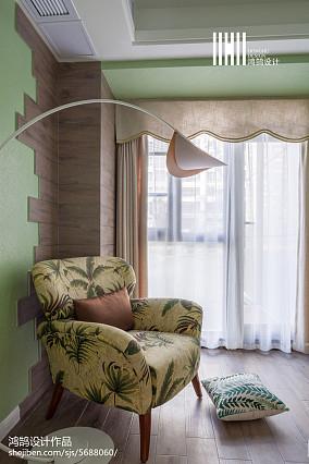 典雅118平简约三居客厅装修美图三居现代简约家装装修案例效果图