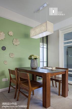 精美面积106平简约三居餐厅装修欣赏图片大全