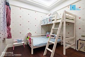 面积124平别墅儿童房混搭实景图片大全