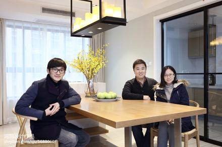 2018精选105平米三居客厅简约欣赏图片