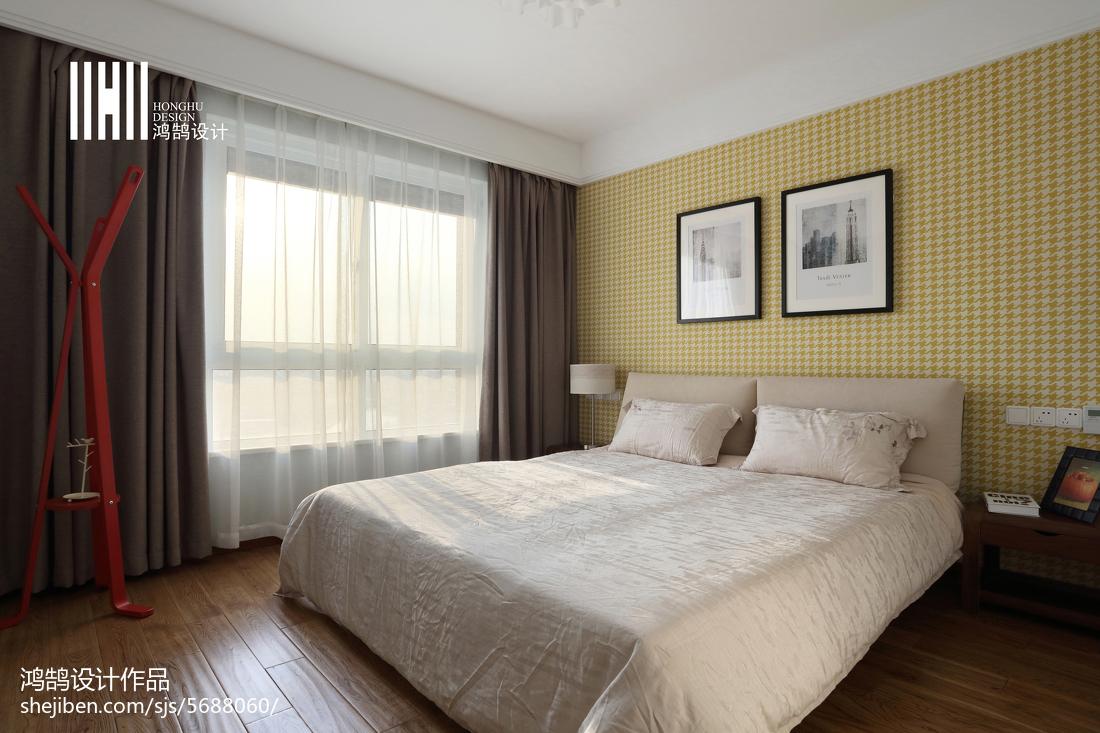 平方三居卧室简约装修图片欣赏卧室现代简约卧室设计图片赏析