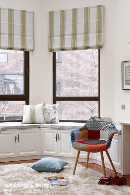 美式风格窗台地柜设计