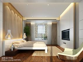 整洁别墅中式客厅装修效果图