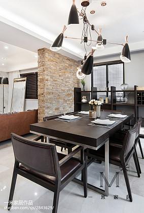 精美99平米三居餐厅现代装修欣赏图片大全