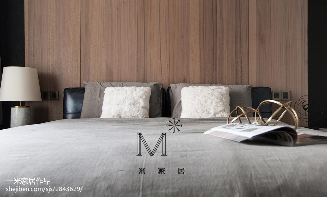 2018大小93平现代三居卧室装饰图片卧室现代简约卧室设计图片赏析