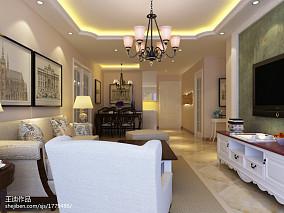 时尚美式古典二居家居装修