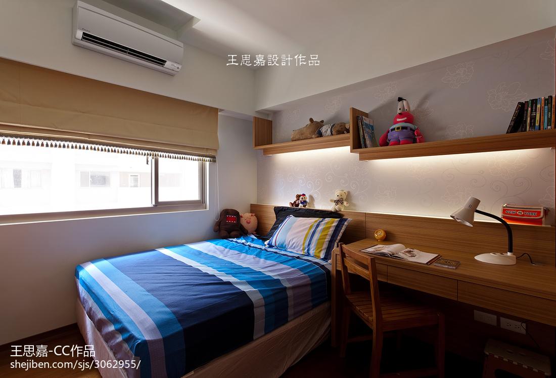 东南亚三居儿童房装修设计效果图片欣赏卧室木地板潮流混搭卧室设计图片赏析