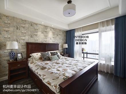 简约美式 卧室设计