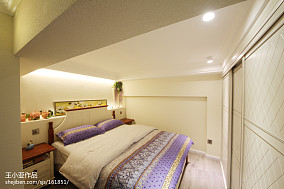 热门面积122平复式卧室实景图片欣赏