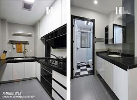 2018面积79平北欧二居厨房装饰图片欣赏家装装修案例效果图