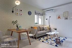 精选79平方二居客厅北欧效果图片