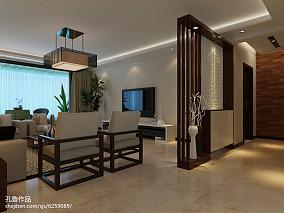简美两室一厅一卫户型图