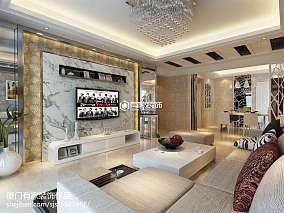 精选面积76平简约二居客厅装修欣赏图