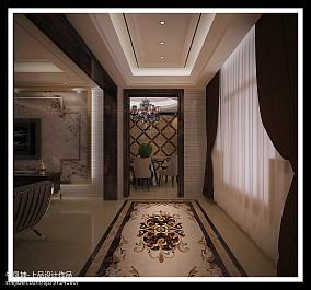 高层住宅建筑夜景图片