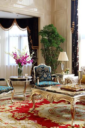精美大小141平别墅客厅欧式效果图片欣赏别墅豪宅欧式豪华家装装修案例效果图