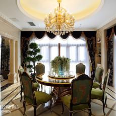 精选144平米欧式别墅餐厅实景图片欣赏