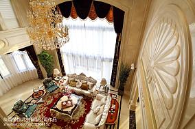 精选面积144平别墅客厅欧式装饰图片欣赏别墅豪宅欧式豪华家装装修案例效果图