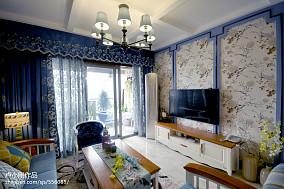 2018精选88平米二居客厅现代效果图片