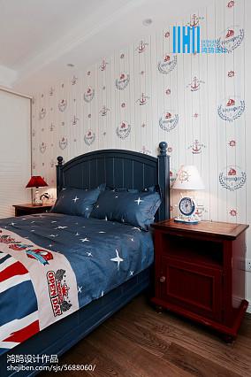温馨63平美式二居儿童房装修图片二居美式经典家装装修案例效果图