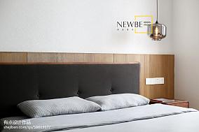 热门73平米二居卧室简约装修实景图片欣赏