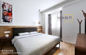 精选面积89平简约二居卧室装修效果图