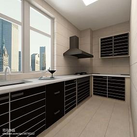 精致美式风格二居室装修效果图
