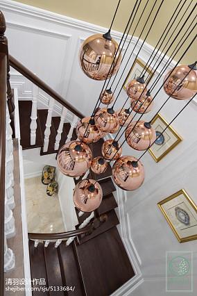 优美354平新古典别墅设计美图别墅豪宅美式经典家装装修案例效果图