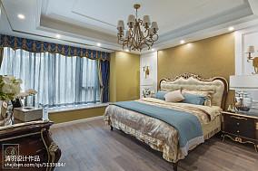 优美221平新古典别墅设计美图别墅豪宅美式经典家装装修案例效果图