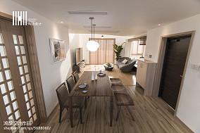 2018面积111平复式厨房日式装修效果图片欣赏家装装修案例效果图