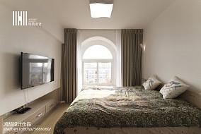 热门127平米日式复式卧室装修欣赏图片大全复式日式家装装修案例效果图