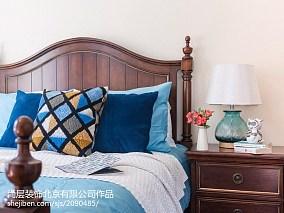 2018面积137平别墅卧室混搭装修设计效果图别墅豪宅其他家装装修案例效果图