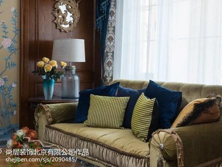 典雅792平混搭别墅客厅装修美图