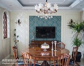 热门大小131平别墅餐厅混搭装修效果图片大全别墅豪宅其他家装装修案例效果图