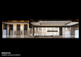 巴黎现代公寓卧室隔断设计