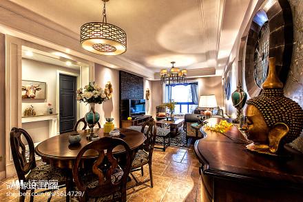 热门138平米四居餐厅混搭装修图厨房