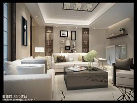 热门96平米三居中式装修图片欣赏