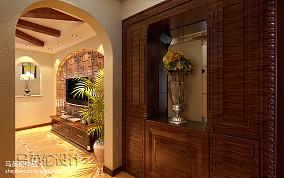 精选别墅玄关地中海装修设计效果图片欣赏