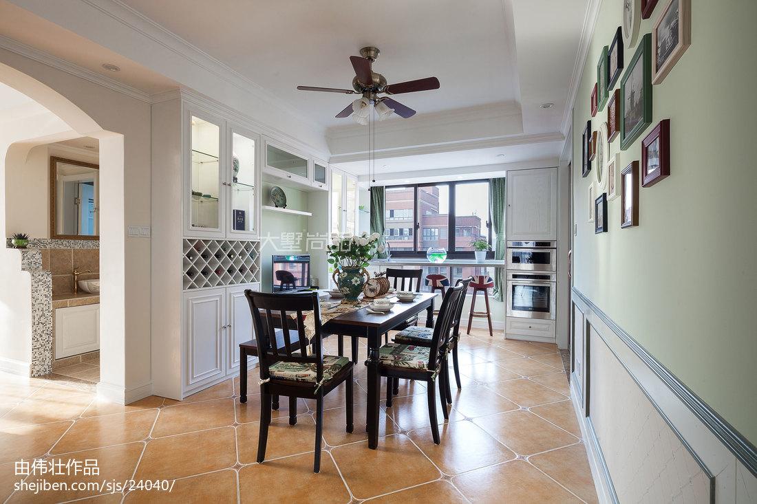 浪漫101平地中海四居装饰图片厨房地中海餐厅设计图片赏析