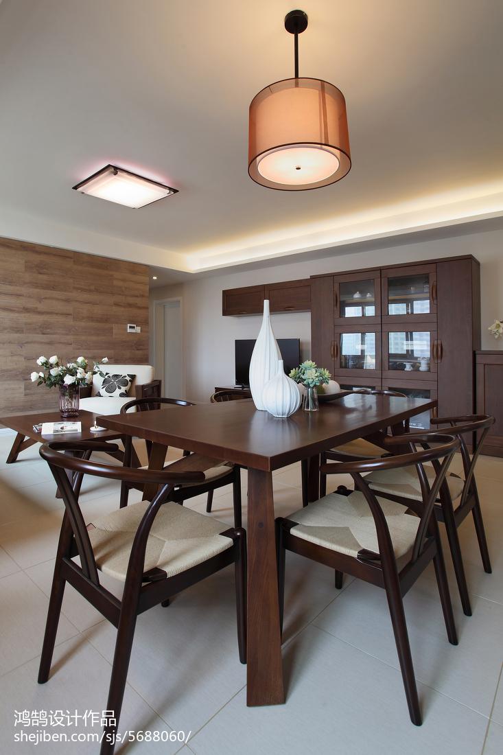 平米三居餐厅简约装修图厨房现代简约餐厅设计图片赏析