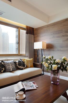 91平米三居客厅简约装修设计效果图片大全
