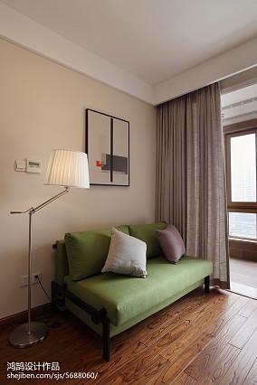 三居书房简约效果图片三居现代简约家装装修案例效果图