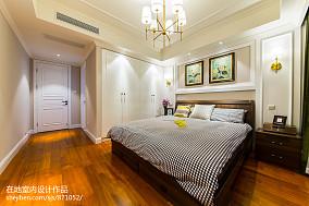 大气123平美式三居卧室设计案例卧室美式经典设计图片赏析