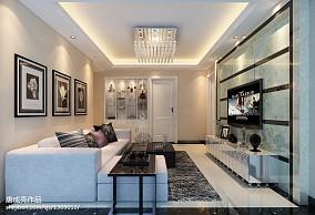 热门129平米四居客厅简约装修图片