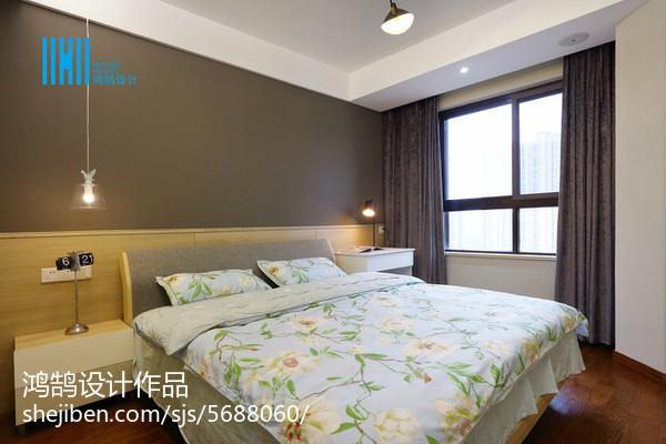 热门面积94平简约三居卧室装修设计效果图卧室现代简约卧室设计图片赏析