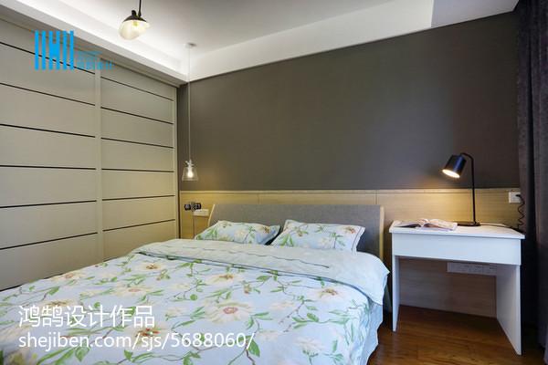 热门三居卧室简约装修欣赏图片卧室现代简约卧室设计图片赏析
