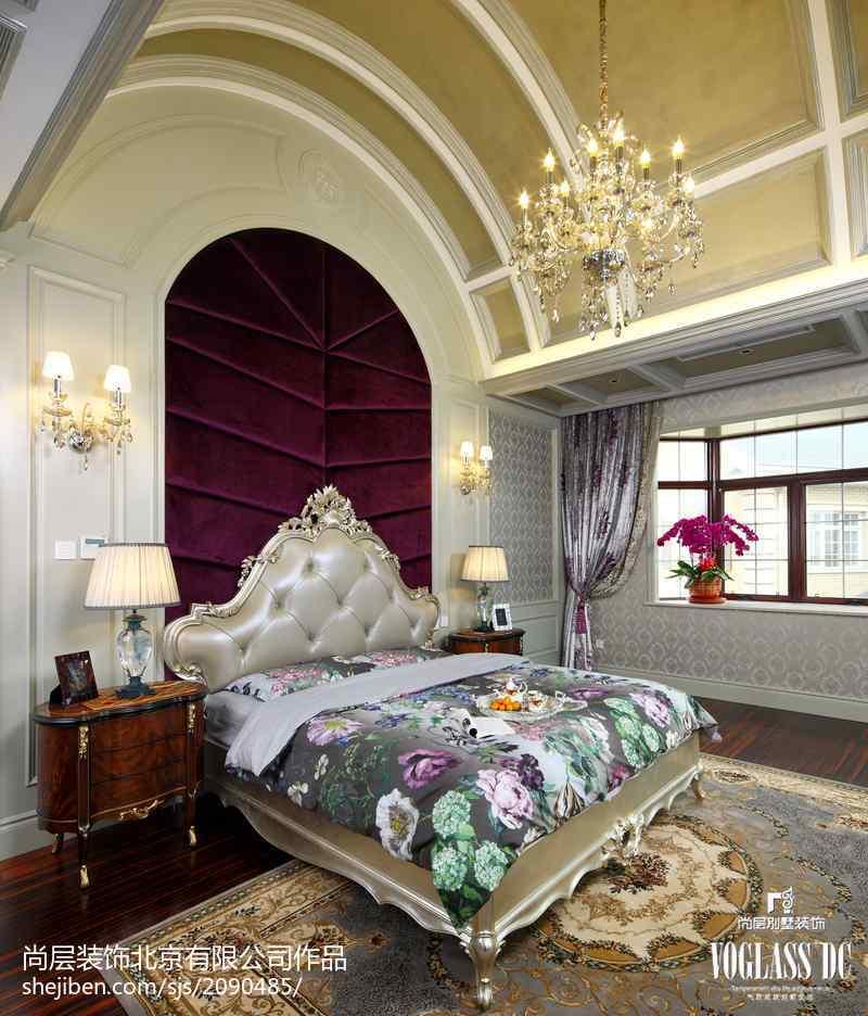 精选112平米新古典别墅卧室装修欣赏图客厅美式经典客厅设计图片赏析