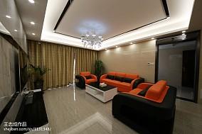 四室两厅装修效果图 四室两厅客厅装修样板房