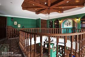 精美137平米美式别墅休闲区装修图片大全别墅豪宅美式经典家装装修案例效果图