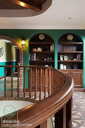 简洁998平美式别墅休闲区美图别墅豪宅美式经典家装装修案例效果图
